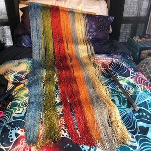 Unique Decorative Boho Hippie Curtain Fringe